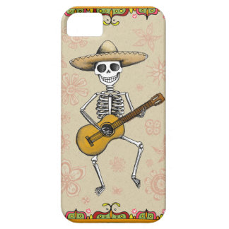 Dancing Skeleton Muertos iPhone 5/5S Case