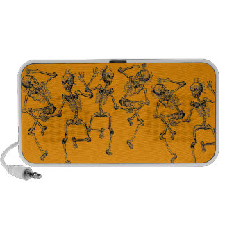 Dancing Skeletons Day of the Dead Dance Party PC Speakers