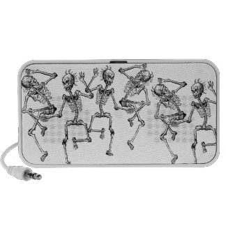 Dancing Skeletons Day of the Dead Dance Party Travel Speaker