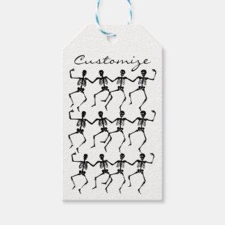 Dancing Skeletons Halloween Thunder_Cove Gift Tags