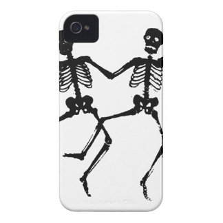 Dancing Skeletons iPhone 4 Case-Mate Cases