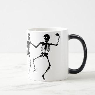 Dancing Skeletons Magic Mug