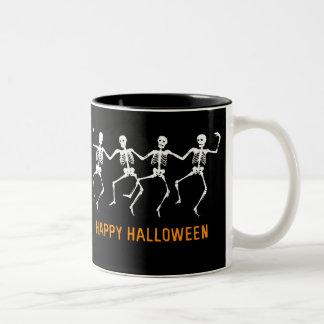 Dancing Skeletons Coffee Mugs