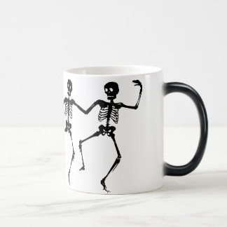 Dancing Skeletons Morphing Mug