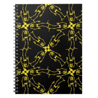 Dancing skeletons notebook