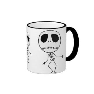 Dancing Skeletons Ringer Mug