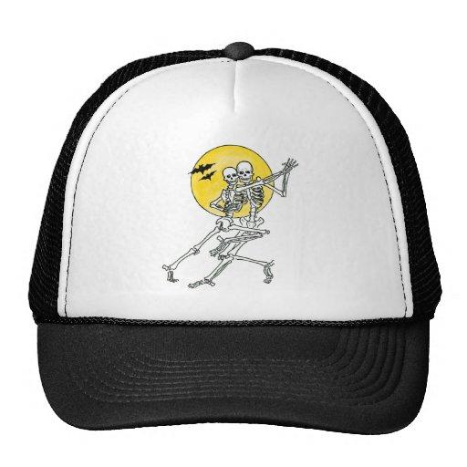 Dancing Skeletons Trucker Hat Mesh Hat