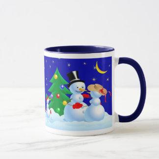 Dancing Snowmen Mug