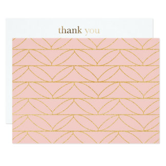 Dancing Sparkle Thank You Card