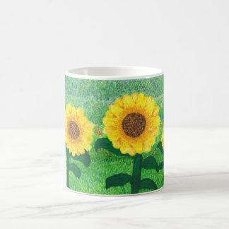 Dancing Sunflowers Mug