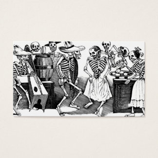 """Dancing the Jarabe in the Other World"" Business Card"