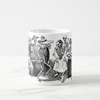 Dancing the Jarabe in the Other World Coffee Mugs