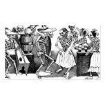 """""""Dancing the Jarabe in the Other World"""" Pack Of Standard Business Cards"""