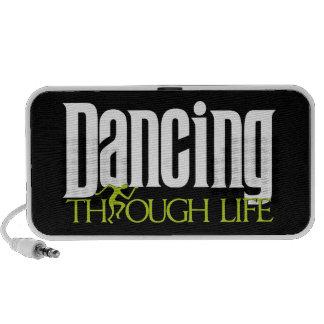 Dancing Through Life Laptop Speaker
