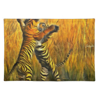 Dancing Tigers Placemat