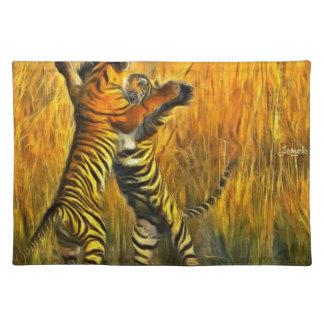 Dancing Tigers Placemat
