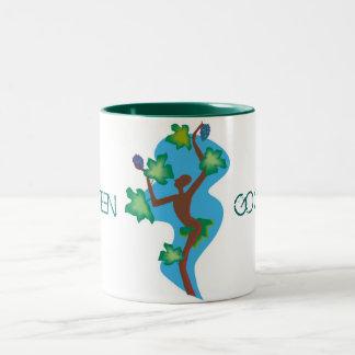 Dancing to Go Green Lg Cup Mug