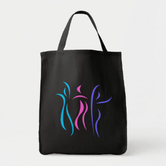 Dancing totebag grocery tote bag