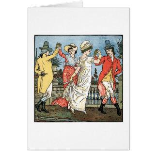 Dancing Under the Bridge of Avignon, Card