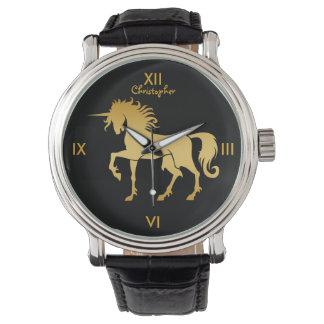 Dancing Unicorn Silhouette Watch