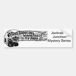 Dancing Winnebago Bumper Sticker