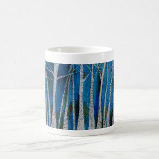Dancing Winter Trees Coffee Mug