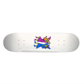 dancing witches 21.6 cm old school skateboard deck