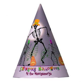 Dancing With the Bones Halloween Party Hat