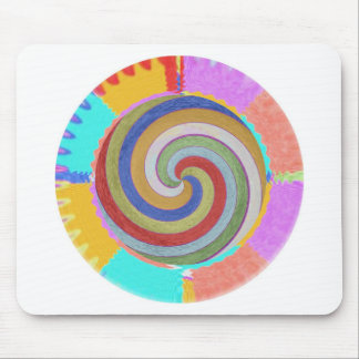 Dancing with Waves Mouse Pad