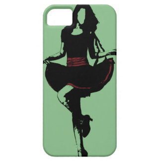 Dancing Woman Barely There iPhone 5 Case