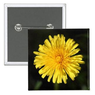 Dandelion 15 Cm Square Badge