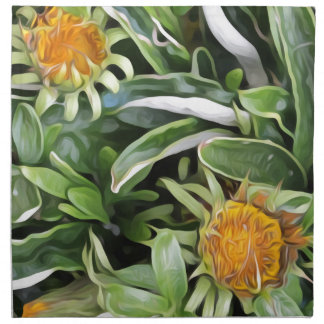 Dandelion a la Van Gogh Napkin