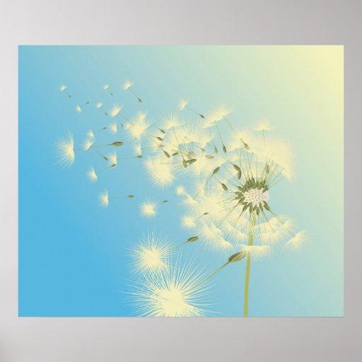 Dandelion Afternoon Print