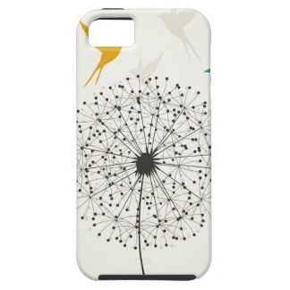 Dandelion and bird iPhone 5 covers