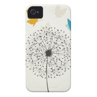 Dandelion and the butterfly iPhone 4 Case-Mate cases
