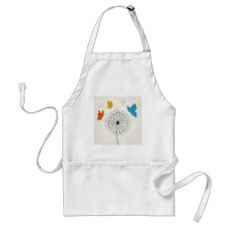Dandelion and the butterfly standard apron