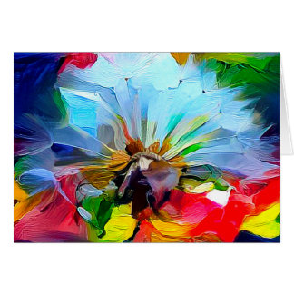 Dandelion Art Greeting Card