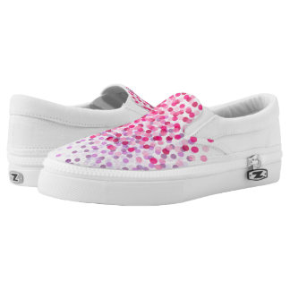 Dandelion Blooms Slip On Shoes