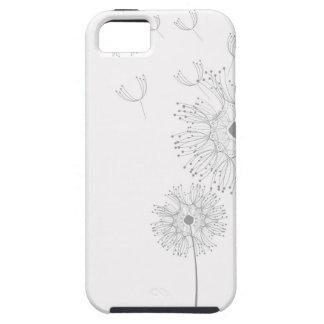 Dandelion Blossoms Vines Romantic Wedding Shower iPhone 5 Covers
