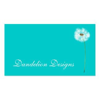 Dandelion Design Pack Of Standard Business Cards
