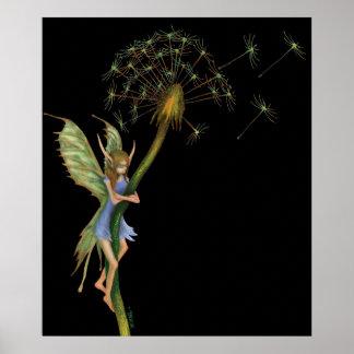 Dandelion Faery Poster