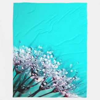 Dandelion - Fleece Blanket, Large