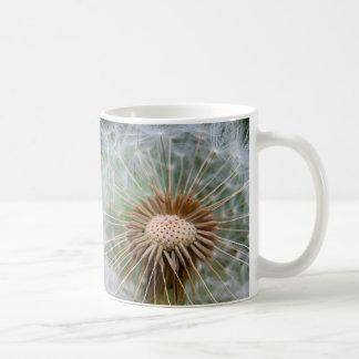 Dandelion Flower Macro Nature Photograph Coffee Mug