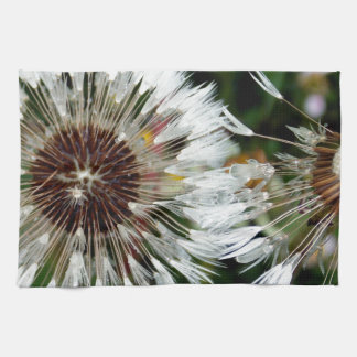 Dandelion Flower Tea Towel