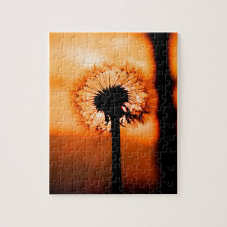 Dandelion Flower (Tooth of Leon) Jigsaw Puzzle