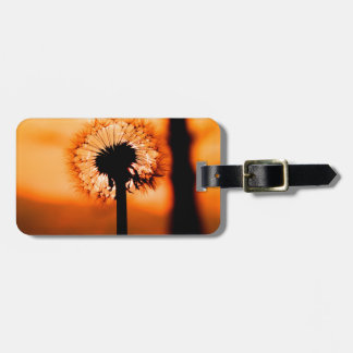 Dandelion Flower (Tooth of Leon) Luggage Tag