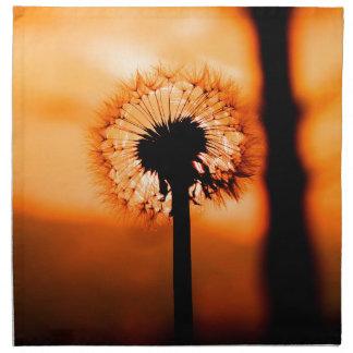 Dandelion Flower (Tooth of Leon) Napkin