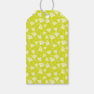 Dandelion flowers gift tags
