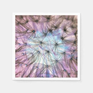 Dandelion Fluff Cloud Disposable Serviette