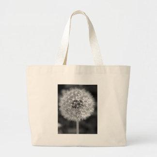 Dandelion Gone to Seed Jumbo Tote Bag